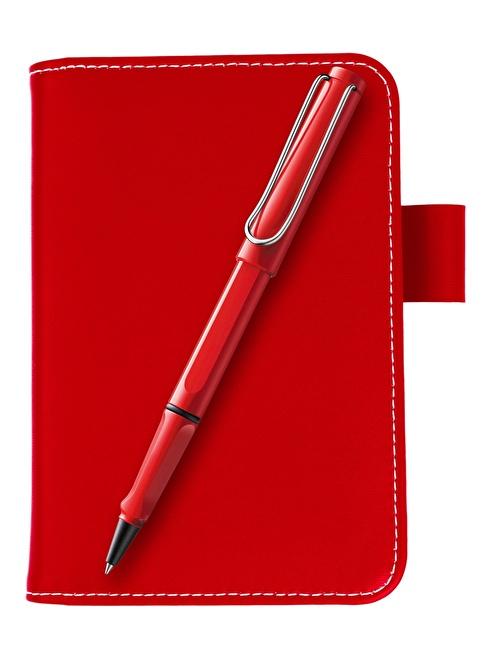 Lamy Roller Kalem + Notluk  Kırmızı